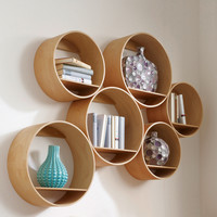 FlexiTube Nature - shelving system by Kißkalt Designs