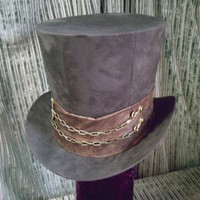 The Artemis - Top Hat - Ready To Ship | GypsyLadyHats - Accessories on ArtFire