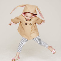 Honey Bunny Coat in Pink