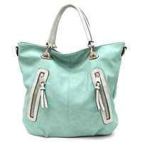 Pree Brulee - Rustic Turquoise Wanderlust Handbag