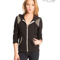 Pretty Little Liars Aria Studded Full-Zip Hoodie