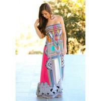 Active Imagination Maxi Dress