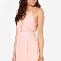 LULUS Exclusive Lacy Lass Pink Dress