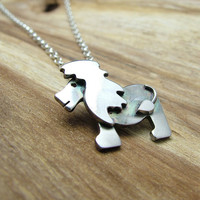 Sterling Silver Lion Necklace - Animal Jewellery
