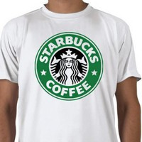 Starbucks T-shirt. Coffee 100% Heavy Cotton Free Shipping