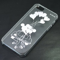 Disney's Mickey and Minnie Mouse - Transparant iPhone5 5s Case