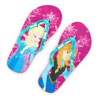 Disney Frozen Jewel Flip Flops For Kids | Disney Store