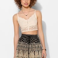 Staring At Stars Lace Hook + Eye Bra Top - Urban Outfitters