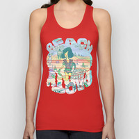 Beach Party Unisex Tank Top by Ben Geiger