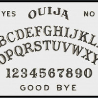 Ouija Cross Stitch Pattern