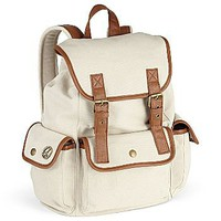 Olsenboye Canvas Backpack : handbags &amp; accessories : juniors : jcpenney