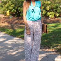 Around The World Pants, Taupe
