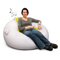ThinkGeek :: Inflatable iMusic Chair