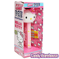 Hello Kitty Giant PEZ Candy Dispenser   CandyWarehouse.com Online Candy Store