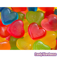 Jelly Filled Mini Gummy Hearts Candy: 5LB Bag | CandyWarehouse.com Online Candy Store