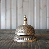 Vintage Silver Counter Bell