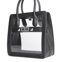 Like Dreams Clear Panel Handbag