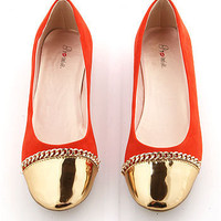 Chain Barker Flats | Trendy Shoes at Pink Ice