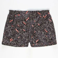 FULL TILT Chevron Print Girls Soft Shorts