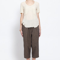Totokaelo - Raquel Allegra Patch Pocket Tee - $79.80