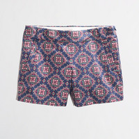 "Factory 5"" printed stretch chino short - Women - early_access_0214's View All - J.Crew Factory"