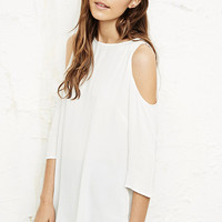 Staring at Stars Cold Shoulder Tunic - Urban Outfitters