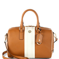 Robinson Striped Middy Satchel