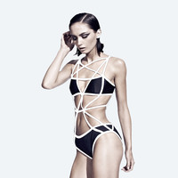chromat — Pentagram Suit II- Black & White