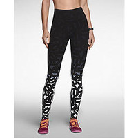 Nike Epic Lux Printed Women's Running Tights - Black