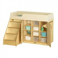 Jonti-Craft Diaper Depot with Stairs - 5145JC - Furniture