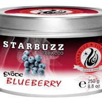 Blueberry Starbuzz Shisha Tobacco at Hookah Company