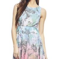 Marvel Tie Dye Skater Dress | WEt Seal