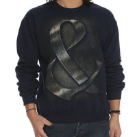 Of Mice Men Metal Ampersand Crew Pullover