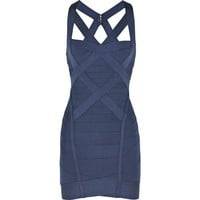 Bqueen Cross-over Bandage Dress H032L VeO