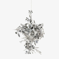 GARLAND Silver Metal Pendant shade - 0 - Habitat