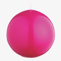GLOSS Pink Organic Round candle - Home Decor - Habitat