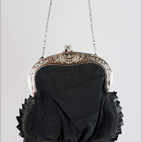 Victorian Mourning Purse | PLASTICLAND