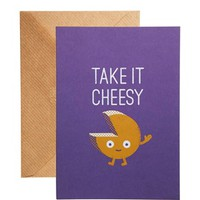 Ohh Deer Take It Cheesy Card