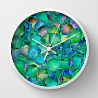 BUBBLES Wall Clock by Catspaws