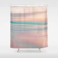 SUNRISE TONES Shower Curtain by Catspaws