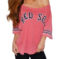 Womens Boston Red Sox Tee   SportyThreads.com