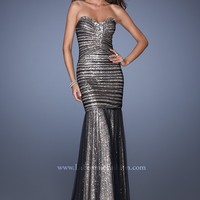 La Femme 19394 Sparkly Mermaid Dress