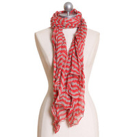 candystripe lane striped scarf - $15.99 : ShopRuche.com, Vintage Inspired Clothing, Affordable Clothes, Eco friendly Fashion