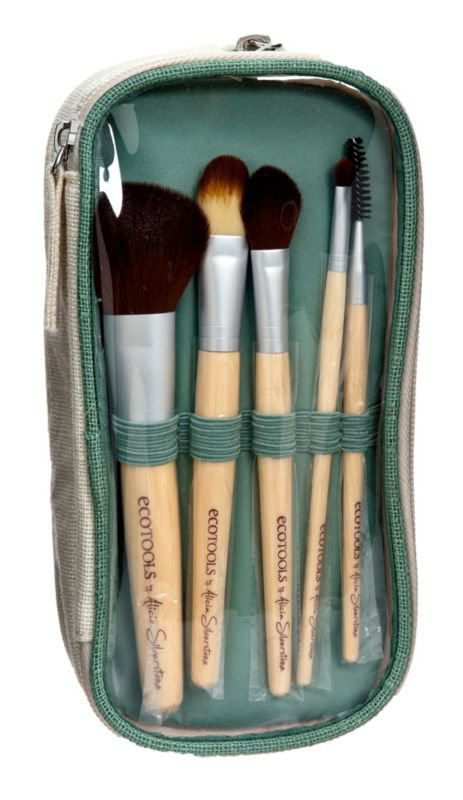 Cosmetic Brushes Eco Tools 5 pc. Bag and Brush Set Ulta.com
