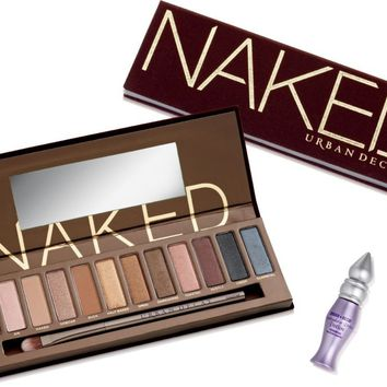 Urban Decay Cosmetics Naked Palette w/ Brush Ulta.com