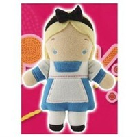 Disney Pook-a-Looz Alice Plush Toy -- 12''