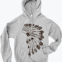 Unisex Pullover Hoody- HEADDRESS - Flex Fleece Classic Sweatshirt - (2 Color Options) - American apparel sizes xs s m l xl