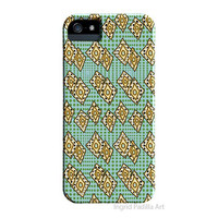 Funky diamond pattern, iPhone 5 Case, Artist, iPhone4 Case, Abstract, Art, iPhone5 cases, by Ingrid, iPhone 5S case