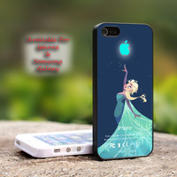 Disney Frozen Elsa Iphone Logo - iPhone 4 4S iPhone 5 5S 5C.
