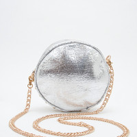 Can Can Studded Bag - Silver